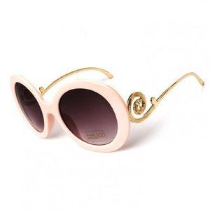 Accessories - Pink baroque sunglasses